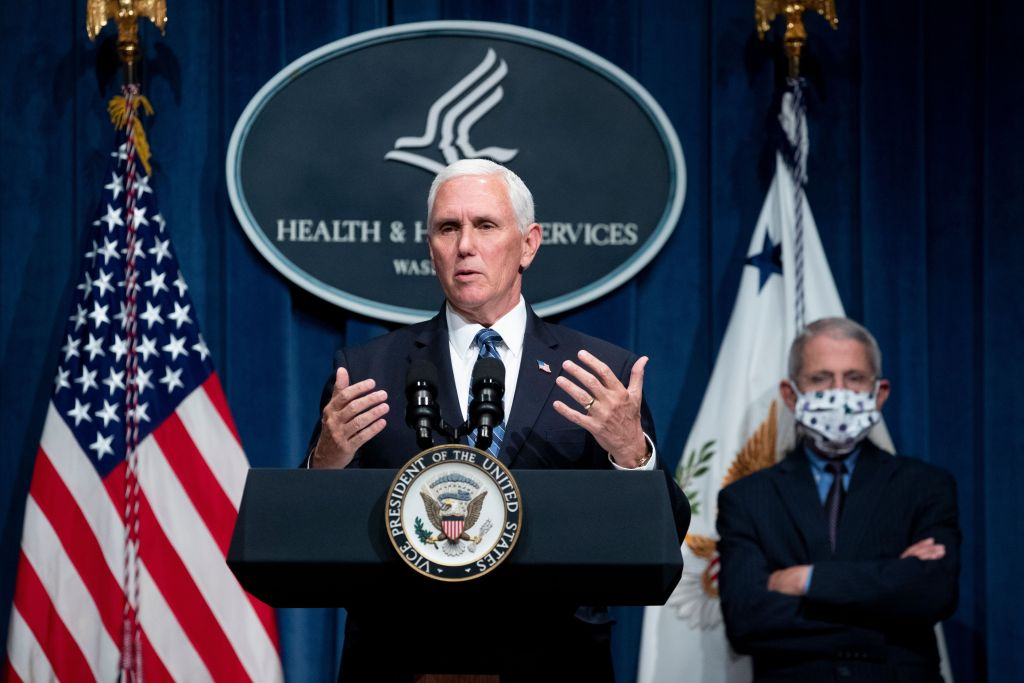 "As U.S. Sets One-Day Record For Coronavirus Infections, Vice President Mike Pence Says States Are Opening Up ""Safely And Responsibly"" – Deadline"