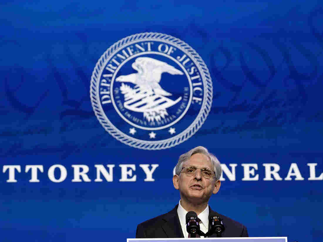 Attorney General Nominee Merrick Garland To Face Senate Judiciary Committee – NPR