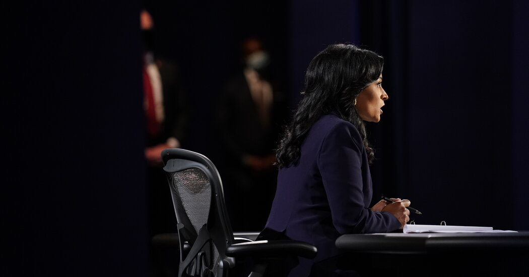 Kristen Welker Asks Candidates About 'The Talk' – The New York Times