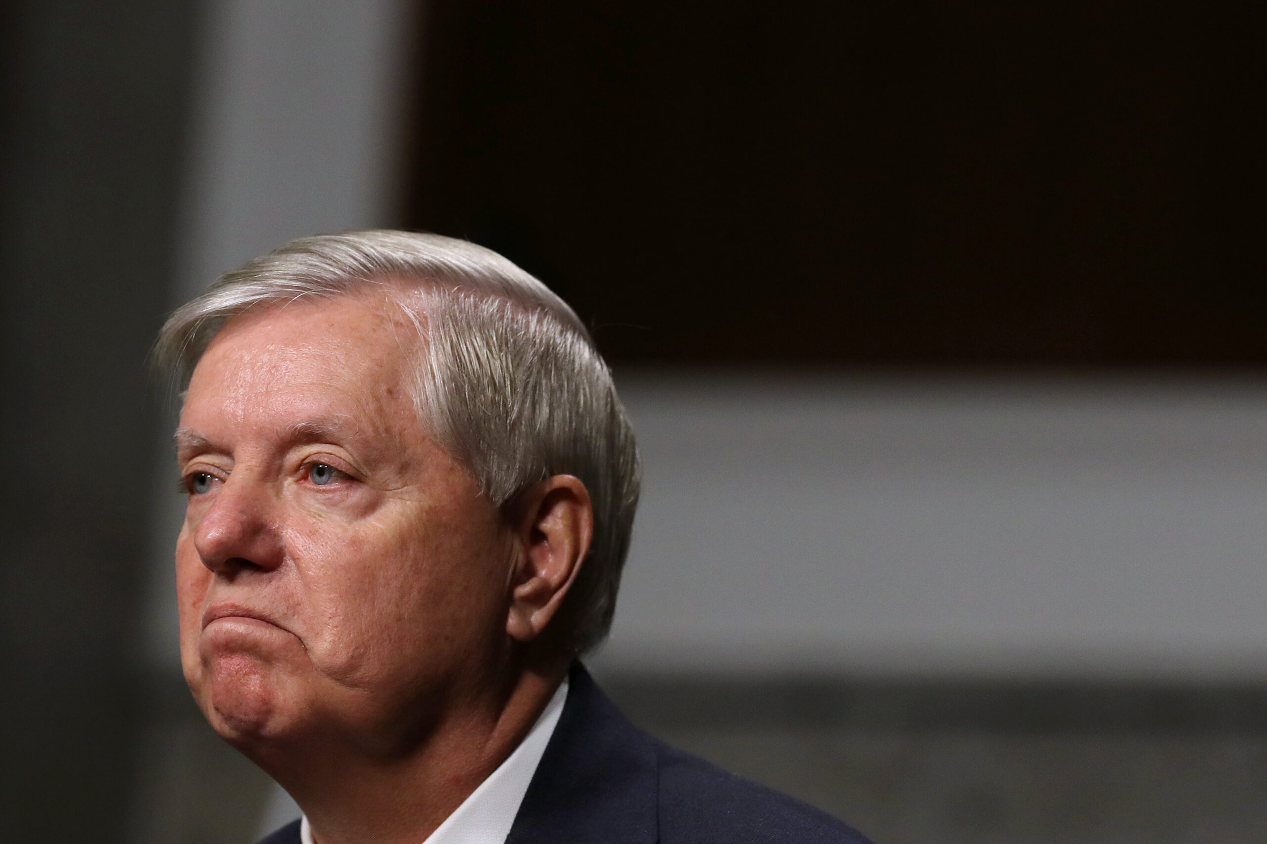 Lindsey Graham Explains Why He Fist Bumped Kamala Harris Despite Refusing to Acknowledge Biden's Victory – Newsweek